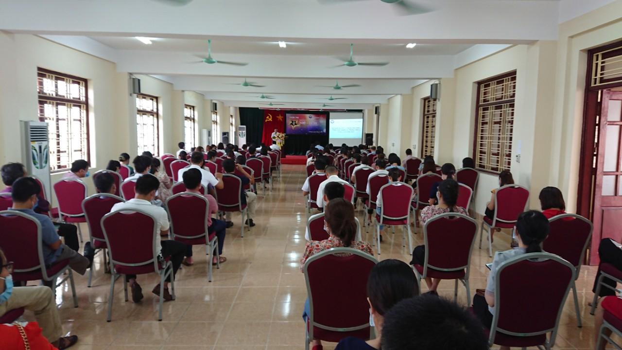 Trường IETC tổ chức Hội nghị Tổng kết Nhiệm vụ 6 tháng đầu năm 2021